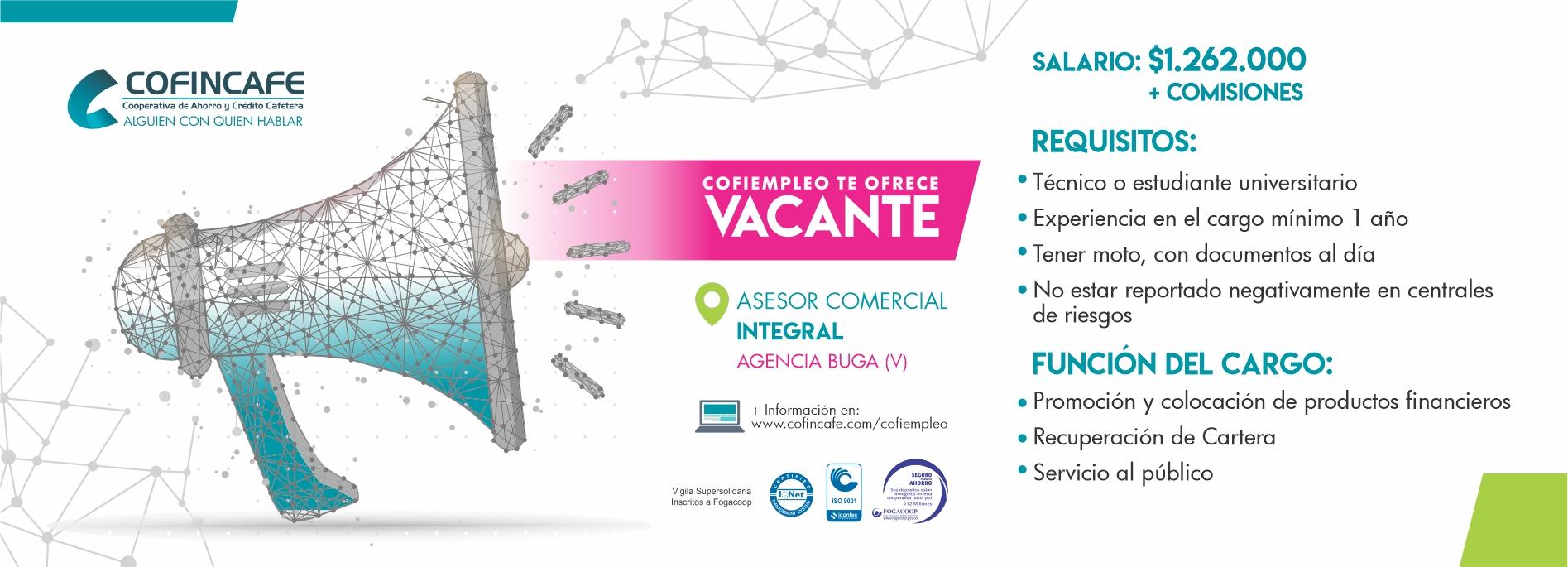05 VACANTE ASESOR INTEGRAL BUGA WEB